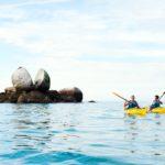 Familienauszeit Neuseeland - Split Apple Rock
