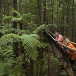 Familienauszeit Neuseeland - Haengebruecke